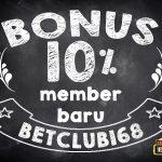 bonus 10 agen judi online