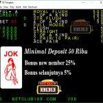 Situs Bola Tangkas Online Bonus 25%