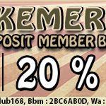 Permainan Bola Tangkas Online Bonus Deposit 25%