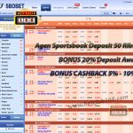 Agen Bola Online Terpopuler Bonus Deposit 20%