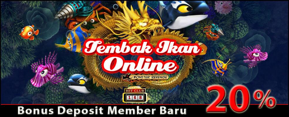 Situs Judi Tembak Ikan Online Bonus Besar