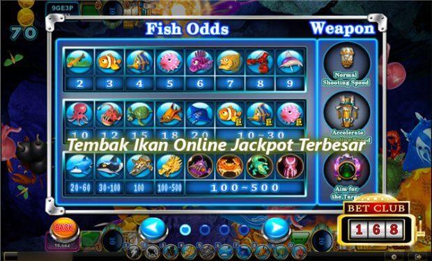 Permainan Judi Tembak Ikan Menang Jackpot Terbesar