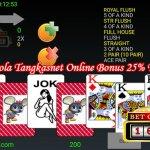 Bola Tangkasnet Online Bonus 25%
