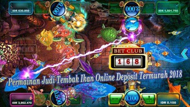 Judi Tembak Ikan Online Deposit Termurah