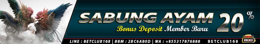Bandar Sabung Ayam Online Deposit Termurah